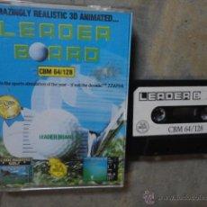Videojuegos y Consolas - JJ JUEGO ORIGINAL CASETE COMMODORE COMODORE LEADER BOARD GOLF SIMULADOR 1986 - 47710986