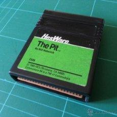 Videojuegos y Consolas: THE PIT HESWARE CARTUCHO COMMODORE 64 C64 JUEGO. Lote 48019102