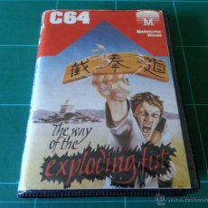 Videojuegos y Consolas: THE WAY OF THE EXPLODING FIST MELBOURNE HOUSE COMMODORE 64 C64 JUEGO. Lote 48019147