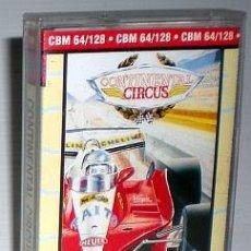 Videojuegos y Consolas: CONTINENTAL CIRCUS [VIRGIN MASTERTRONIC] 1989 TAITO /THE SALES CURVE [COMMODORE 64 C64]. Lote 48311178