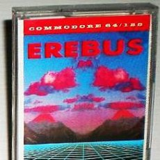 Videojuegos y Consolas: EREBUS [VIRGIN GAMES] 1986 RICOCHET BY MASTERTRONIC [COMMODORE 64 C64 C128]. Lote 48859249