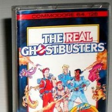 Videojuegos y Consolas: THE REAL GHOSTBUSTERS [ACTIVISION] 1989 [DATA EAST] THE HIT SQUAD [COMMODORE 64 C64]. Lote 139828700