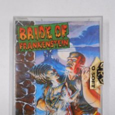 Videojuegos y Consolas: BRIDE OF FRANKENSTEIN. COMMODORE. TDKV3. Lote 49078890