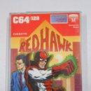 Videojuegos y Consolas: RED HAWK COMMODORE 64 / 128 K. TDKV3. Lote 49080243