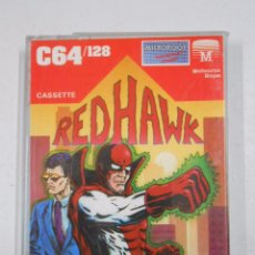 Videojuegos y Consolas: RED HAWK COMMODORE 64 / 128 K. TDKV3. Lote 49080243