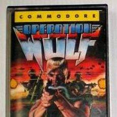 Videojuegos y Consolas: OPERATION WOLF [OCEAN SOFTWARE] 1988 - TAITO / ERBE SOFTWARE [COMMODORE 64 C64]. Lote 42406707