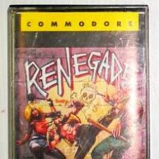 Videojuegos y Consolas: RENEGADE [IMAGINE] 1987 TECHNOS / TAITO - ERBE SOFTWARE [COMMODORE 64 C64]. Lote 42411464