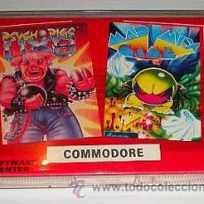 Videojuegos y Consolas: PSYCHO PIG UXB [US GOLD / JALECO] - MAD MIX GAME [TOPO SOFT] SOFTWARE CENTER [COMMODORE 64 C64]. Lote 42229414