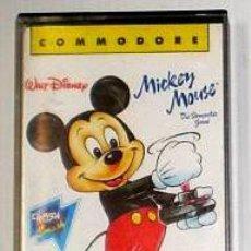 Videojuegos y Consolas: MICKEY MOUSE [GREMLIN GRAPHICS] 1988 ERBE SOFTWARE [COMMODORE 64 C64] WALT DISNEY. Lote 42406744