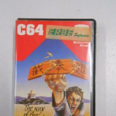 Videojuegos y Consolas: THE WAY OF THE EXPLODING FIST MELBOURNE HOUSE COMMODORE 64. TDKV3. Lote 49179633