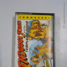 Videojuegos y Consolas: INDIANA JONES AND THE TEMPLE OF DOOM. COMMODORE. TDKV3. Lote 49181774