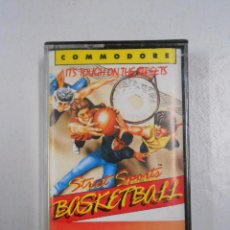 Videojuegos y Consolas: STREET SPORTS BASKETBALL. IT'S TOUGH ON THE STREETS. COMMODORE. TDKV3. Lote 49183311