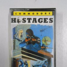 Videojuegos y Consolas: HOSTAGES. COMMODORE 64. TDKV3. Lote 49183405