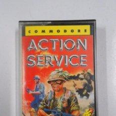 Videojuegos y Consolas: ACTION SERVICE COMMODORE. TDKV34. Lote 49183679