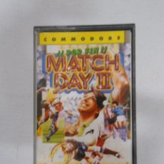 Videojuegos y Consolas: MATCH DAY 2. COMMODORE. TDKV3. Lote 49363768
