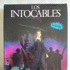 Videojuegos y Consolas: LOS INTOCABLES (CAJA DE CARTON) (PARA COMMODORE 64). Lote 49475002
