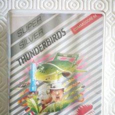 Videojuegos y Consolas: THUNDERBIRDS (CAJA DE PLASTICO) (PARA COMMODORE 64). Lote 49475180