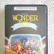 Videojuegos y Consolas: WONDERBOY (CAJA DE PLASTICO) (PARA COMMODORE 64). Lote 54143127