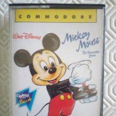 Videojuegos y Consolas: MICKEY MOUSE (EN CAJA DE CASSETE) (PARA COMMODORE 64). Lote 49482380