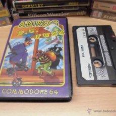 Videojuegos y Consolas: JUEGO COMMODORE 64-P.C.FUZZ-COMPLETO-INSTRUCCIONES INTERIOR-ED.ESPAÑOL. Lote 49751073