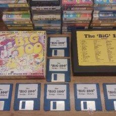 Videojuegos y Consolas: JUEGO PC COMMODORE AMIGA-THE BIG 100-100 JUEGOS AMIGA-COMPLETO-INSTRUCCIONES-PAL. Lote 49909594