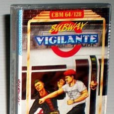 Videojuegos y Consolas: SUBWAY VIGILANTE [PLAYERS PREMIER] 1989 WOW SOFTWARE [COMMODORE 64 C64]. Lote 50629333