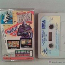 Videojuegos y Consolas: C64 COMMODORE 64/128 CLASSIC ARCADIA 3 GAMES!!C R154. Lote 50638067