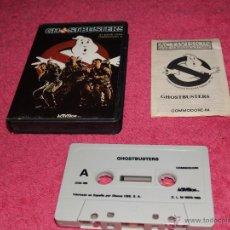 Videogiochi e Consoli: GAME FOR C64 COMMODORE 64 GHOSTBUSTERS SPANISH VERSION BY ACTIVISION ESTUCHE. Lote 51779068