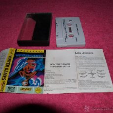 Videojuegos y Consolas: GAME FOR COMMODORE 64 ERBE WINTER GAMES SPANISH VERSION BY U.S GOLD. Lote 51779792