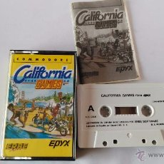 Videojuegos y Consolas: COMMODORE 64 JUEGO CALIFORNIA GAMES. Lote 53786854