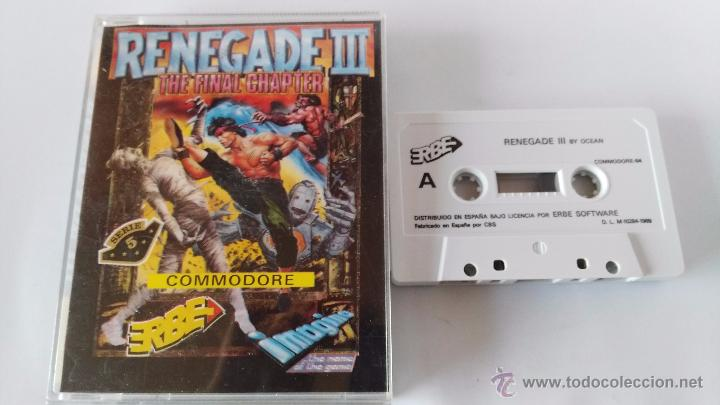COMMODORE 64 JUEGO RENEGADE 3 (Juguetes - Videojuegos y Consolas - Commodore)