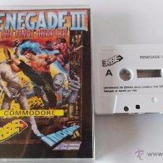 Videojuegos y Consolas: COMMODORE 64 JUEGO RENEGADE 3. Lote 53788143