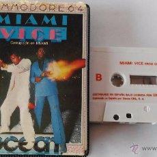 Videojuegos y Consolas: COMMODORE 64 JUEGO MIAMI VICE ESTUCHE. Lote 53788446