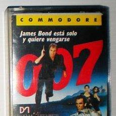 Videojuegos y Consolas: 007 CON LICENCIA PARA MATAR [DOMARK] [1989] ERBE SOFTWARE [COMODORE 64 C64] LICENCE TO KILL. Lote 53841055