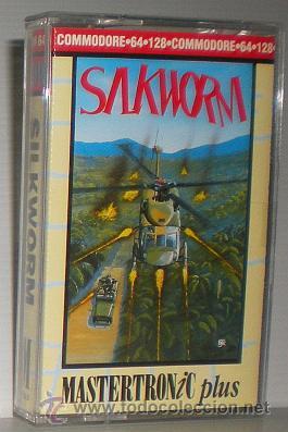 SILKWORM [STORM / THE SALES CURVE] 1989 TECMO / MASTERTRONIC PLUS [COMMODORE 64 C64] (Juguetes - Videojuegos y Consolas - Commodore)
