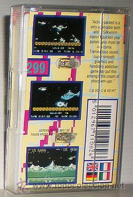 Videojuegos y Consolas: SilkWorm [Storm / The Sales Curve] 1989 Tecmo / Mastertronic Plus [Commodore 64 C64] - Foto 2 - 54058556