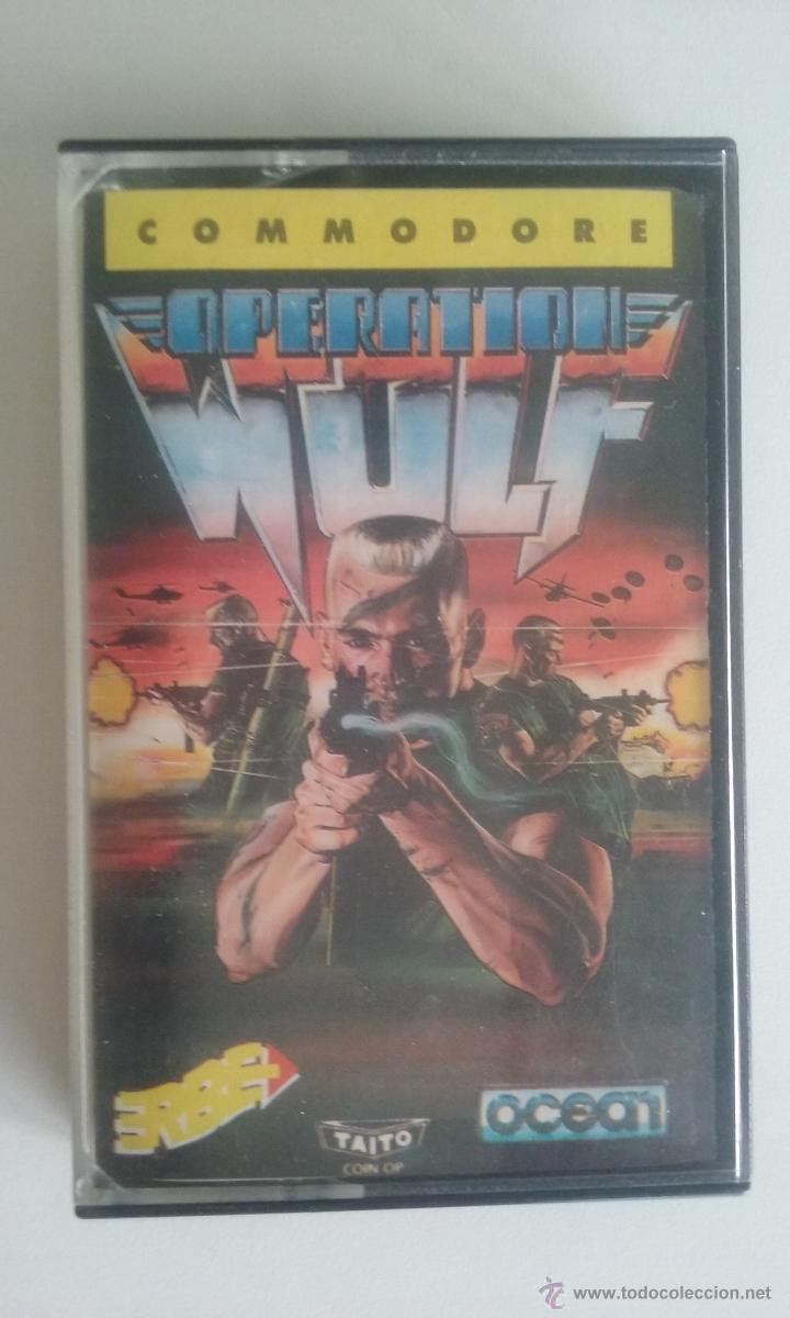 JUEGO COMMODORE 64/OPERATION WOLF-ERBE SOFTWARE. (Juguetes - Videojuegos y Consolas - Commodore)