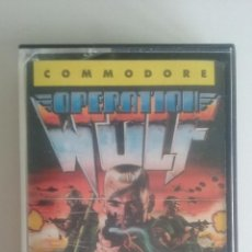Videojuegos y Consolas: JUEGO COMMODORE 64/OPERATION WOLF-ERBE SOFTWARE.. Lote 54604257