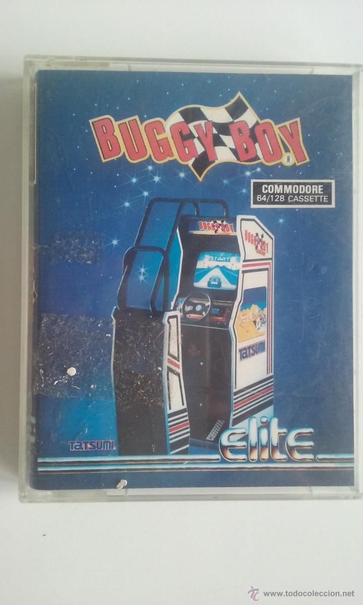 JUEGO COMMODORE 64/BUGGY BOY-ERBE SOFTWARE. (Juguetes - Videojuegos y Consolas - Commodore)