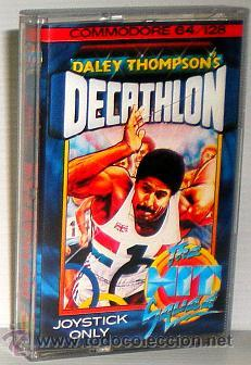 DALEY THOMSON´S DECATHLON [OCEAN SOFTWARE] 1984 THE HIT SQUAD [COMMODORE 64 C64] (Juguetes - Videojuegos y Consolas - Commodore)