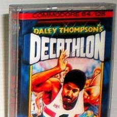 Videojuegos y Consolas: DALEY THOMSON´S DECATHLON [OCEAN SOFTWARE] 1984 THE HIT SQUAD [COMMODORE 64 C64]. Lote 54619039