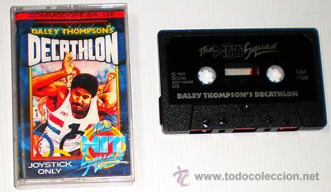 Videojuegos y Consolas: Daley Thomson´s Decathlon [Ocean Software] 1984 The Hit Squad [Commodore 64 C64] - Foto 3 - 54619039