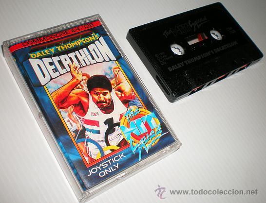Videojuegos y Consolas: Daley Thomson´s Decathlon [Ocean Software] 1984 The Hit Squad [Commodore 64 C64] - Foto 4 - 54619039