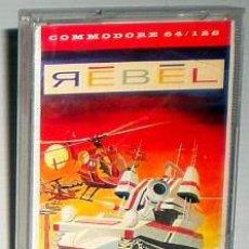 Videojuegos y Consolas: REBEL [VIRGIN GAMES] 1987 MASTERTRONIC [COMMODORE 64 C64]. Lote 54658000