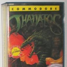 Videojuegos y Consolas: THANATOS [DURELL SOFTWARE] 1987 ERBE SOFTWARE [COMMODORE 64 C64]. Lote 55347273