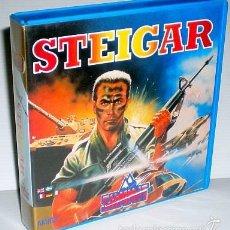 Videojuegos y Consolas: STEIGAR [SCREEN 7 / AKAIDO ARCADE SYSTEMS] [SUMMIT SOFTWARE] 1989 [COMMODORE AMIGA]. Lote 55910808