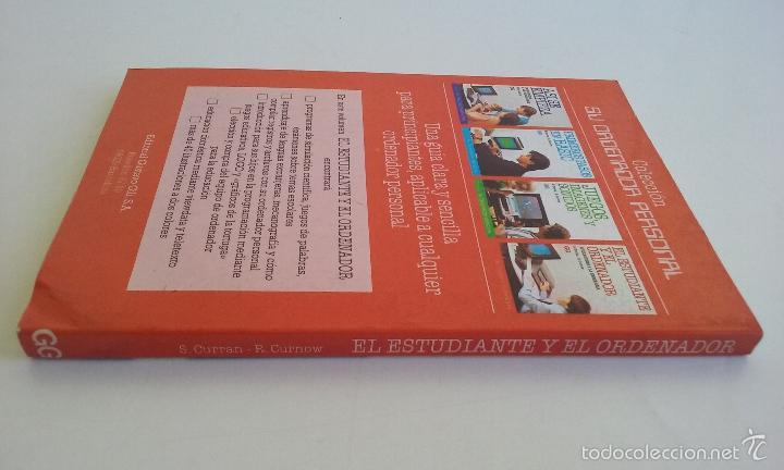 Videojuegos y Consolas: LIBRO/EL ESTUDIANTE Y EL ORDENADOR.COMMODORE 64. -ATARI/SPECTRUM. - Foto 2 - 55915686