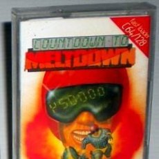 Videojuegos y Consolas: COUNTDOWN TO MELTDOWN [CREATIVE SPARKS] 1984 MASTERTRONIC MAD [COMMODORE 64 C64]. Lote 56239394