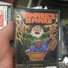 Videojuegos y Consolas: VAMPIRES EMPIRE EN CAJA DE CASSETE PARA COMMODORE 64. Lote 56703796