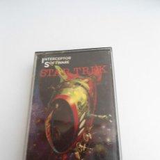 Videojuegos y Consolas: STAR TREK - COMMODORE 64 - INTERCEPTOR SOFTWARE 1983 - RARO. Lote 56608284